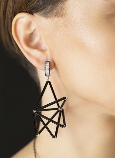 Amulette Jewel Küpe Siyah